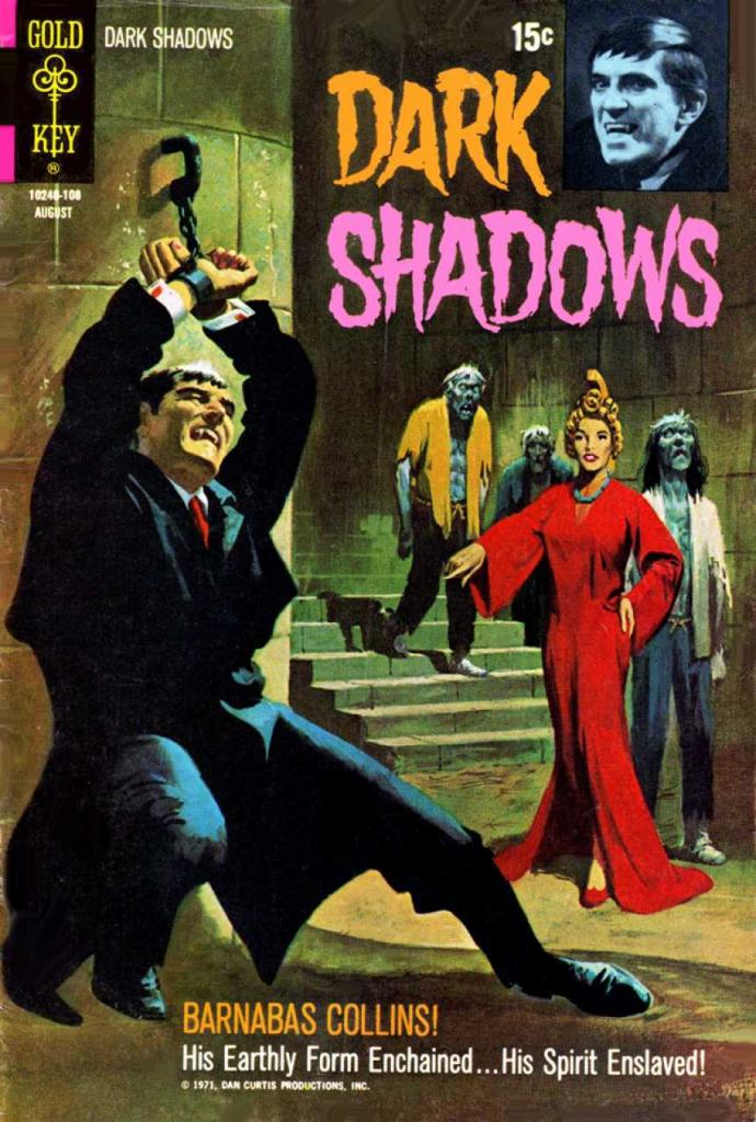 Dark Shadows - Vol. 2, No. 10 - August 1971 - Souls In Bondage