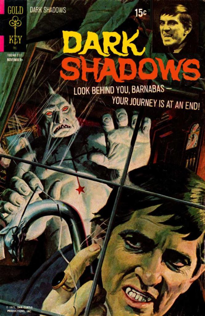 Dark Shadows - Vol. 2, No. 11 - November 1971 - The Thirteenth Star