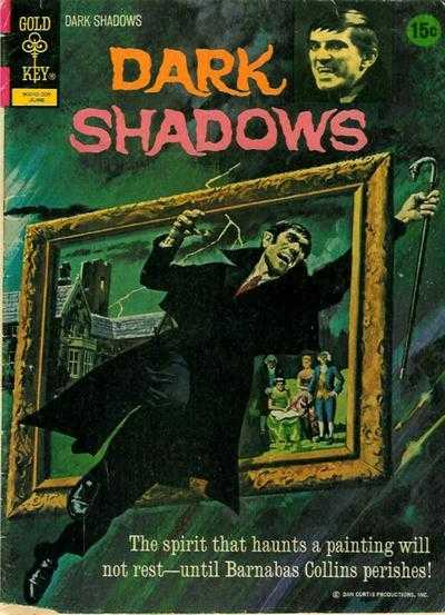 Dark Shadows - Vol. 2, No. 14 - June 1972 - The Mystic Painting