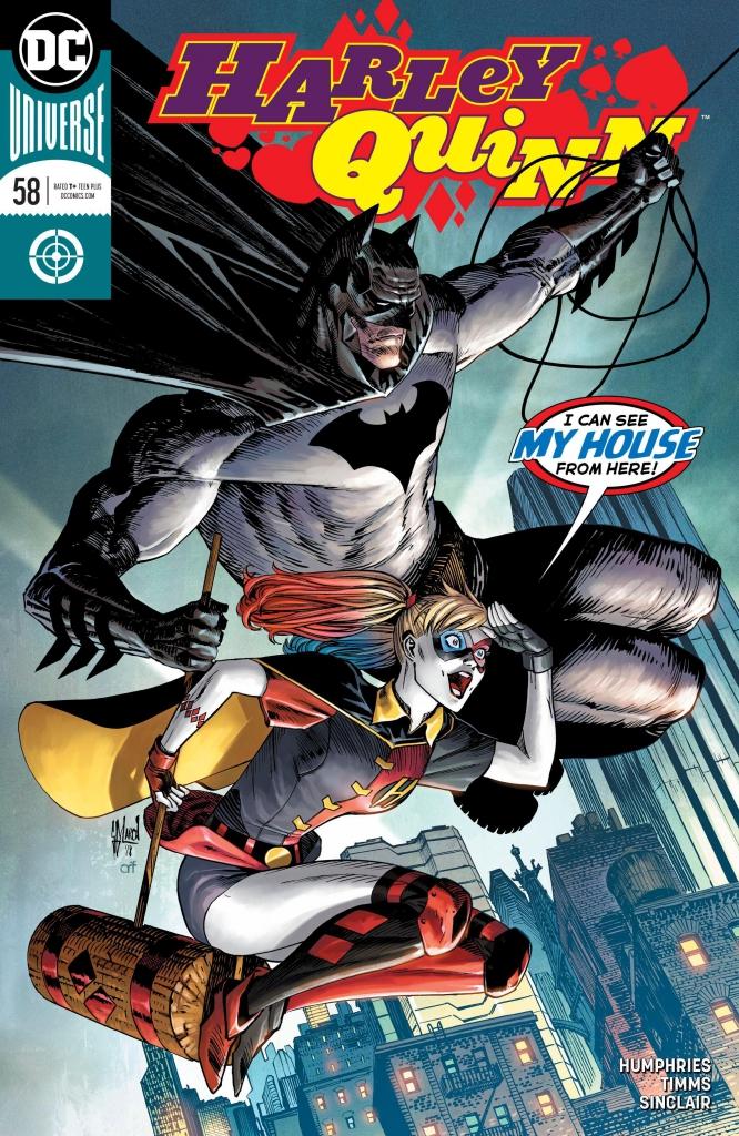 Harley Quinn #58 Cover