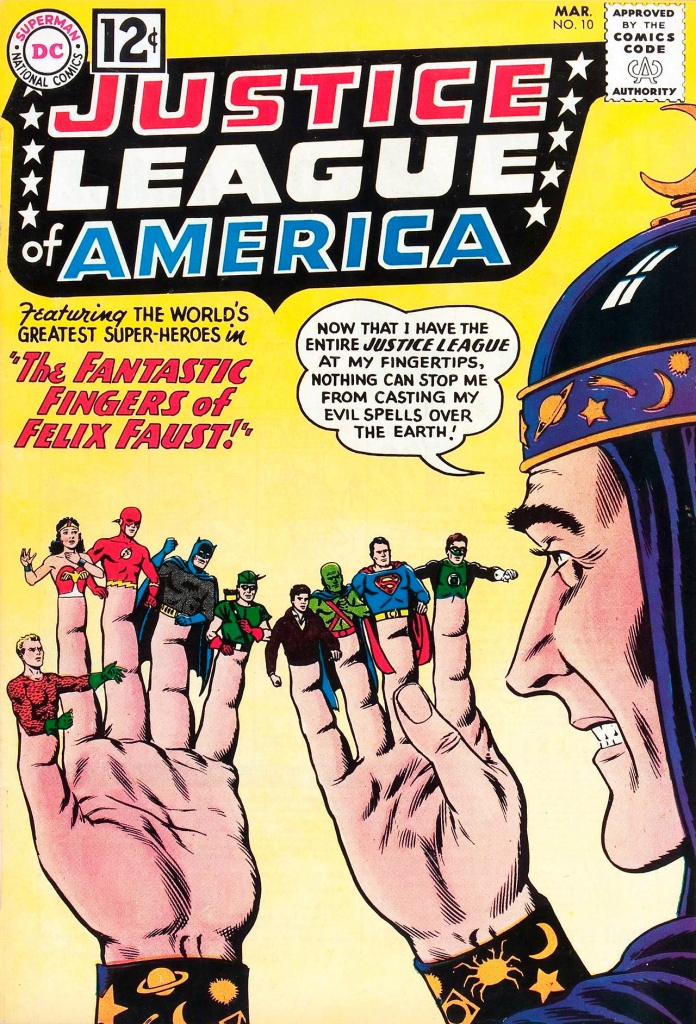 Justice League of America - Vol. 1, No. 10