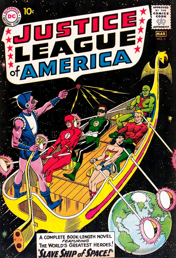 Justice League of America - Vol. 1, No.3 - Slave Ship of Space