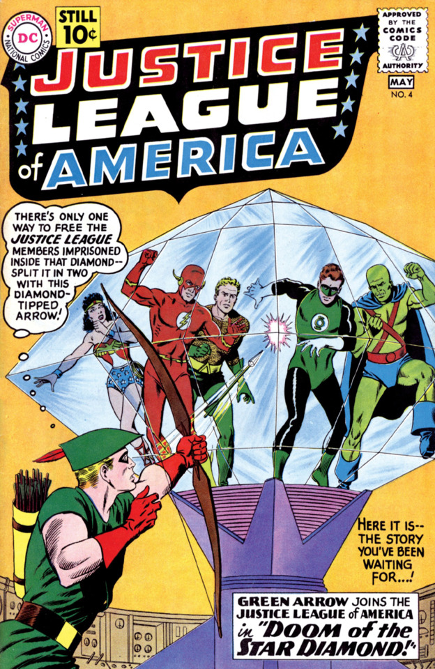Justice League of America - Vol 1., No. 4 - Doom of the Star Diamond!