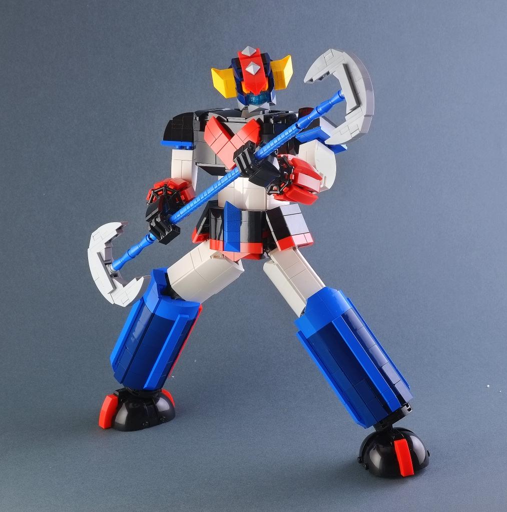 Custom Lego Grendizer