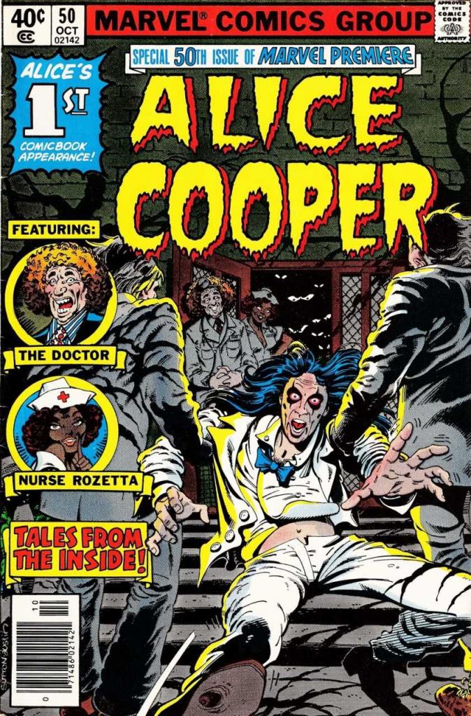 Marvel Premiere, Issue No. 50 - Alice Cooper Cover