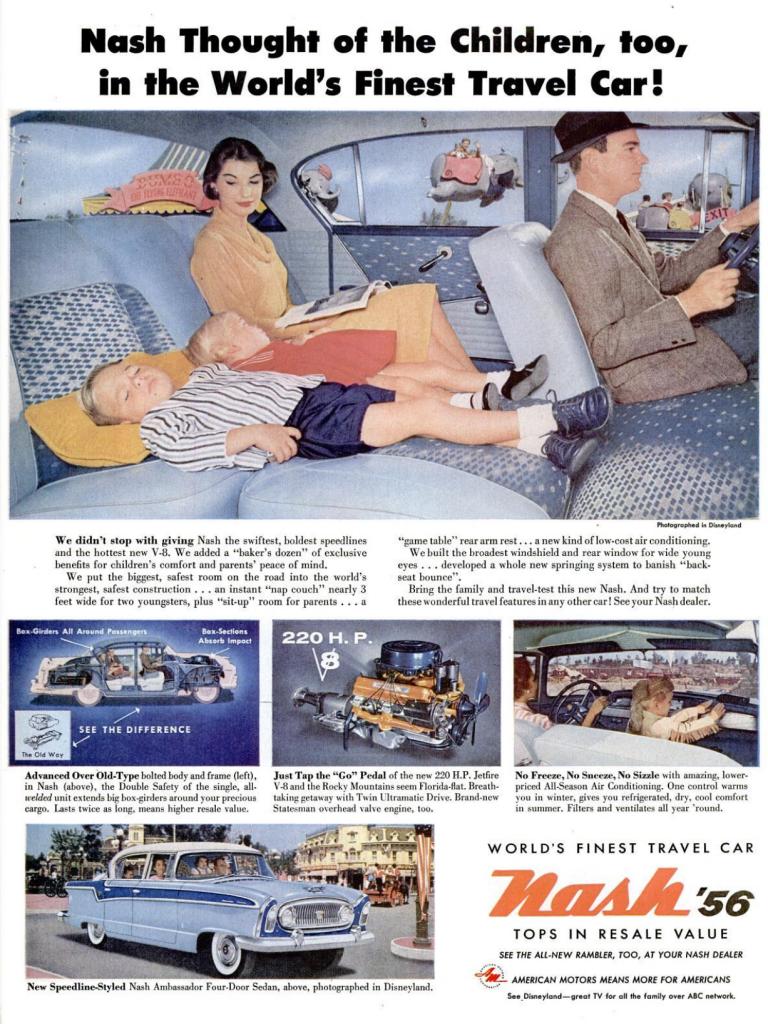 Nash Car Ad - 1956