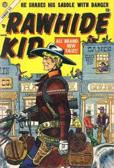 Rawhide Kid - Issue 1 - March 1, 1955