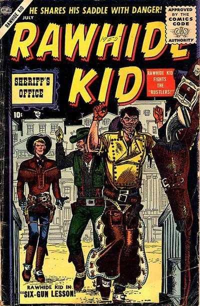 Rawhide Kid - Issue 3 - July 1, 1955
