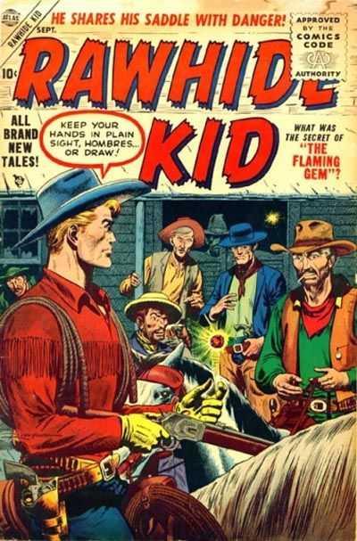 Rawhide Kidd - Issue 4 - September 1, 1955