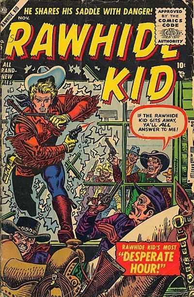 Rawhide Kid - Issue 5 - November 1, 1955