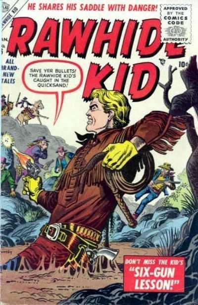 Rawhide Kid - Issue 6 - January 1, 1956