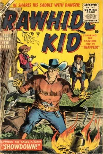 Rawhide Kid - Issue 7 - March 1, 1956