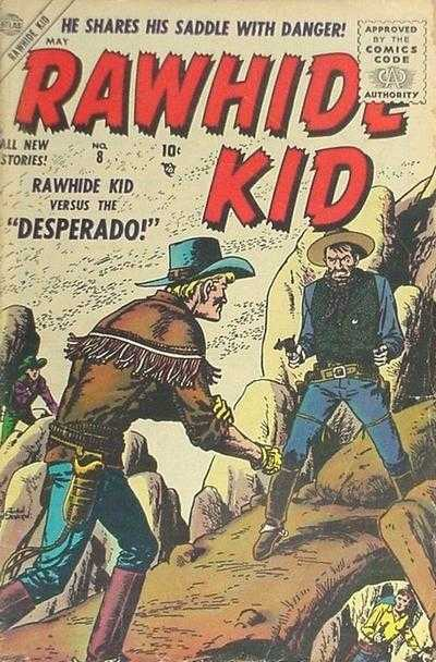 Rawhide Kid - Issue 8 - May 1, 1956