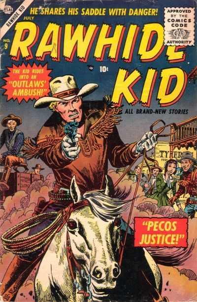 Rawhide Kidd - Issue 9 - July 1, 1956