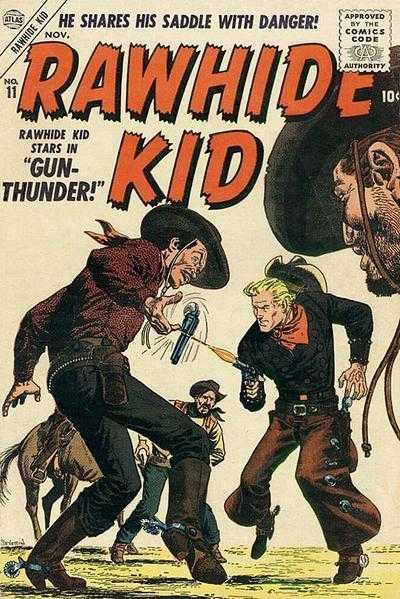Rawhide Kid - Issue 11 - November 1, 1956