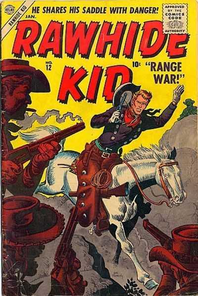 Rawhide Kid - Issue 12 - January 1, 1957