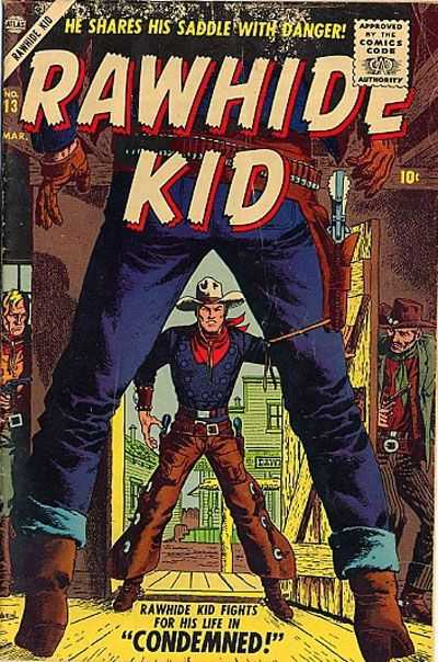 Rawhide Kid - Issue 13 - March 1, 1957