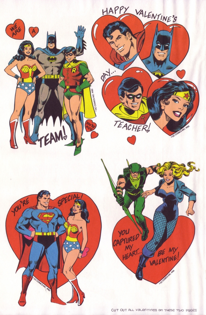 Superfriends Action Valentine Playbook (1980)