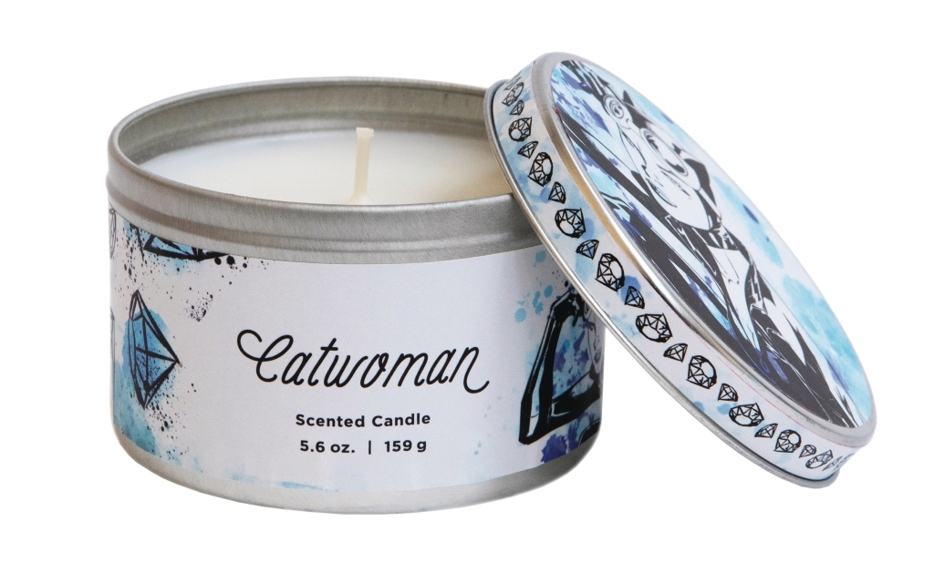 DC Heroes Scented Candle Tins - Catwoman