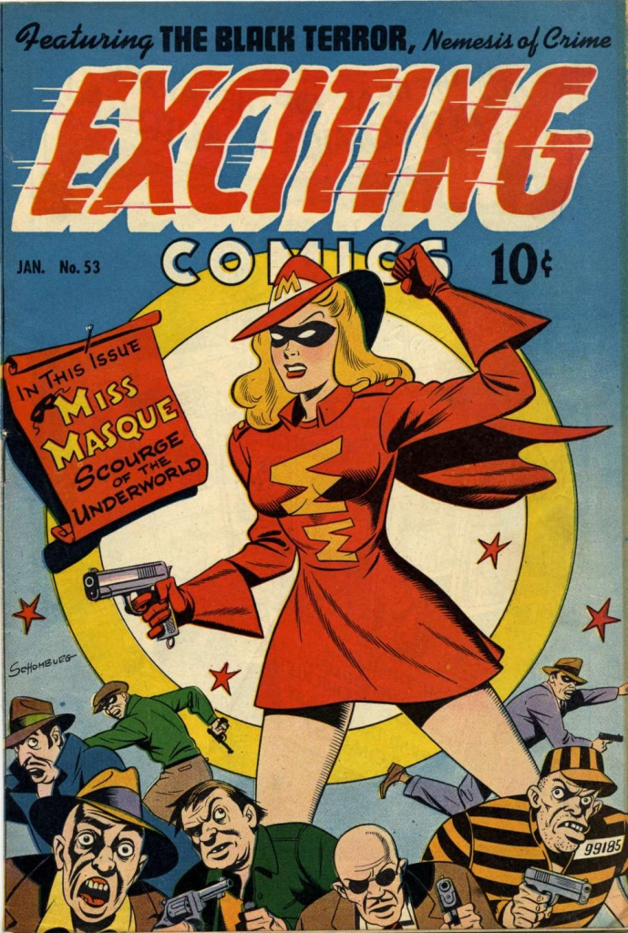 Exciting Comics No. 53 - January 1947