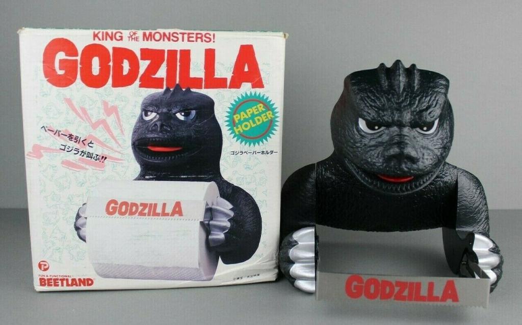 Godzilla Toilet Paper Holder