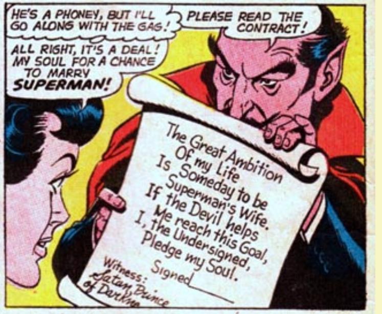 Lois Lane Sells Her Soul