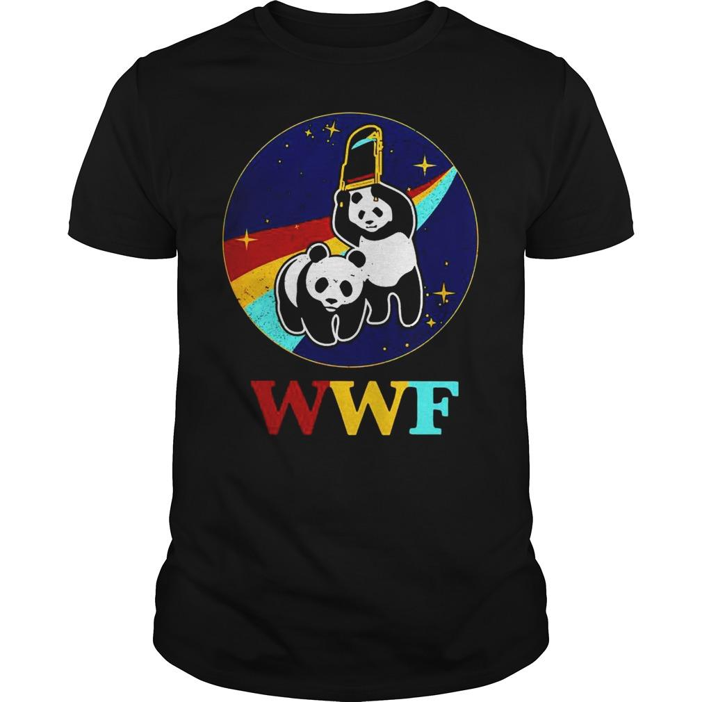 WWF Panda Bear Chair Shot T-Shirt
