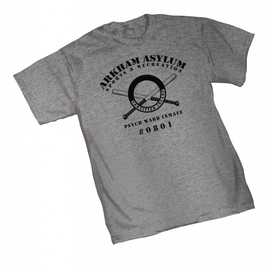 Arkham Asylum Parks & Recreation T-Shirt