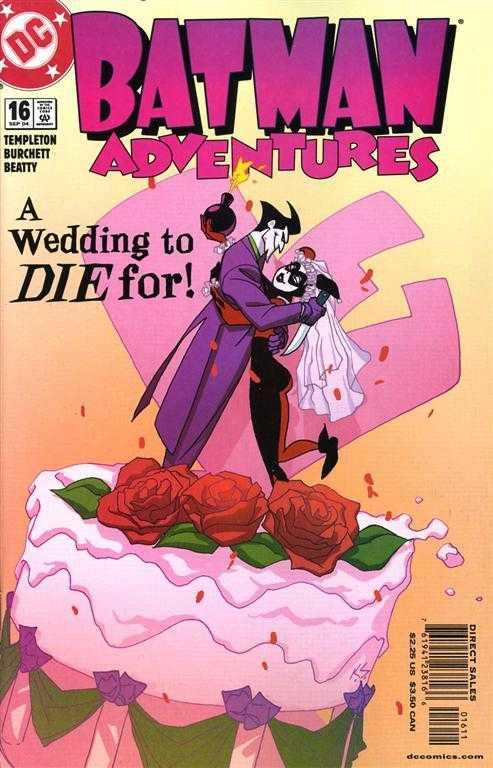 Batman Adventures #16 - A Wedding To Die For!