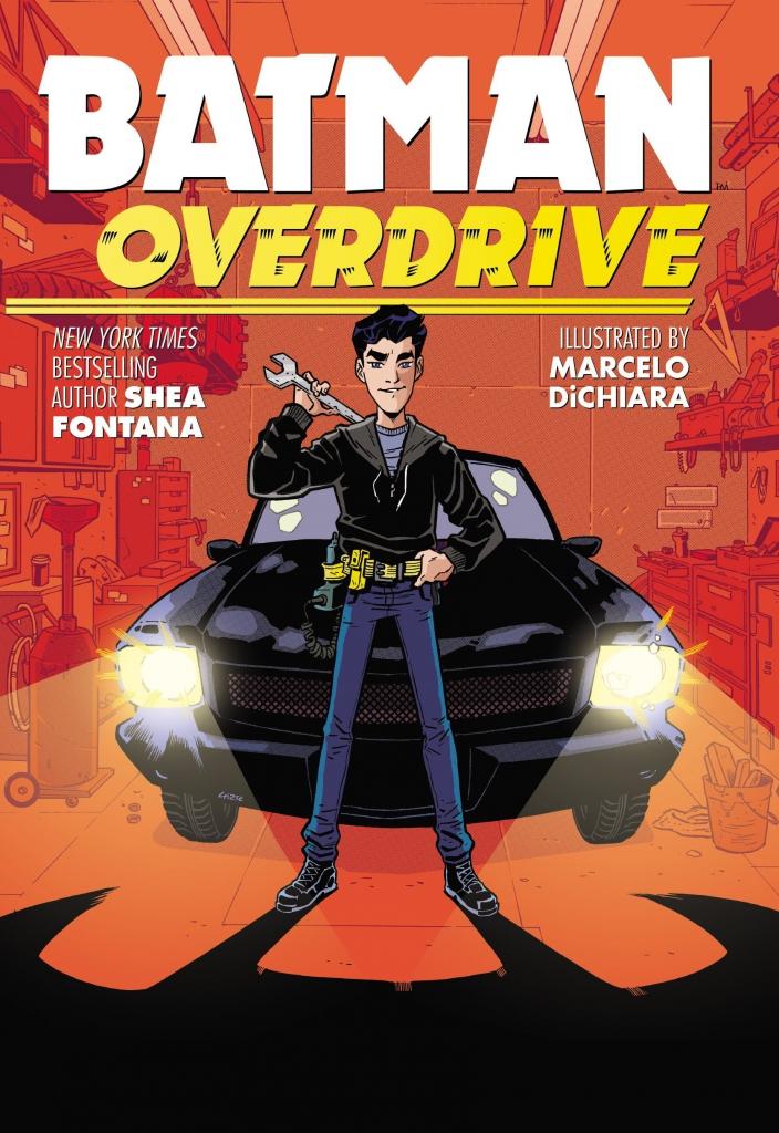 Batman Overdrive Cover