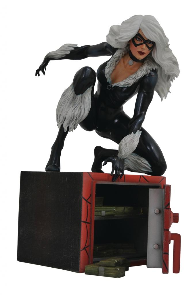 Black Cat PVC Diorama