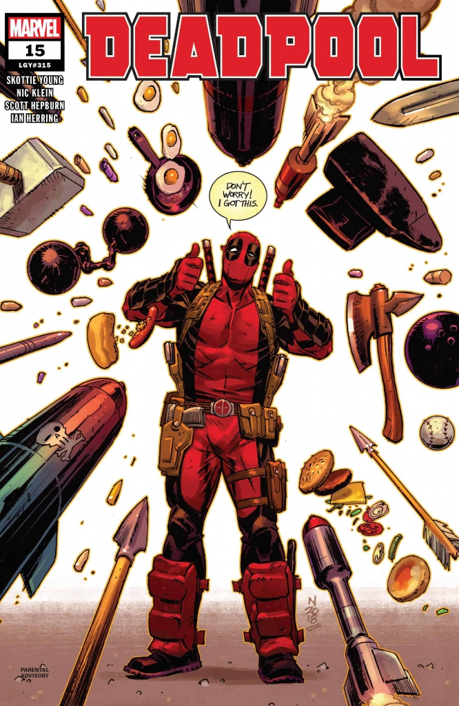 Deadpool No. 15 - Don't Worry! I Got This.