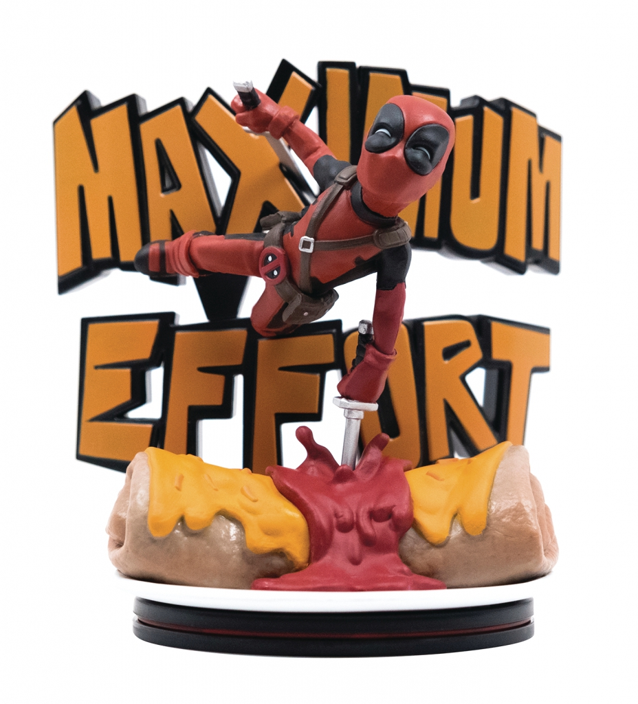 """Deadpool """"Maximum Effort"""" Diorama"""