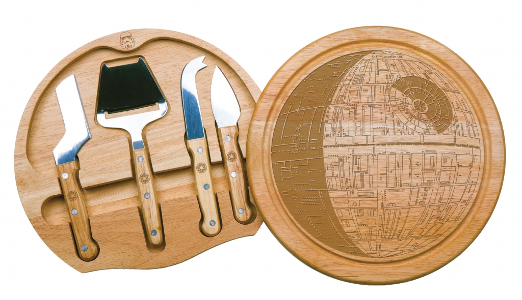 Death Star Cheese Board and Tools Set