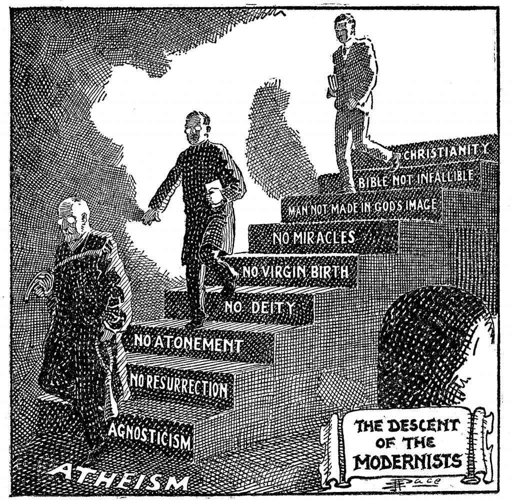 Descent of the Modernists by E. J. Pace