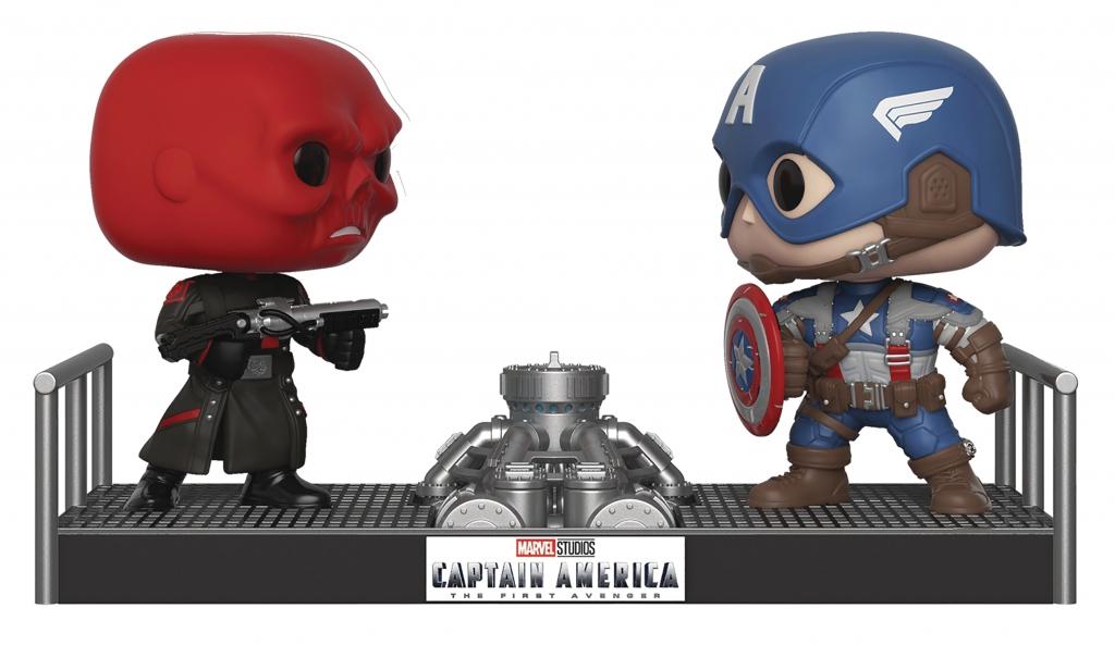 Funko Pop! Captain America vs. Red Skull