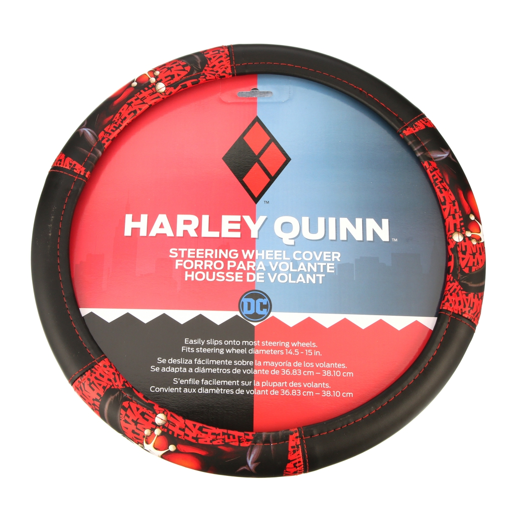 Harley Quinn Steering Wheel Cover