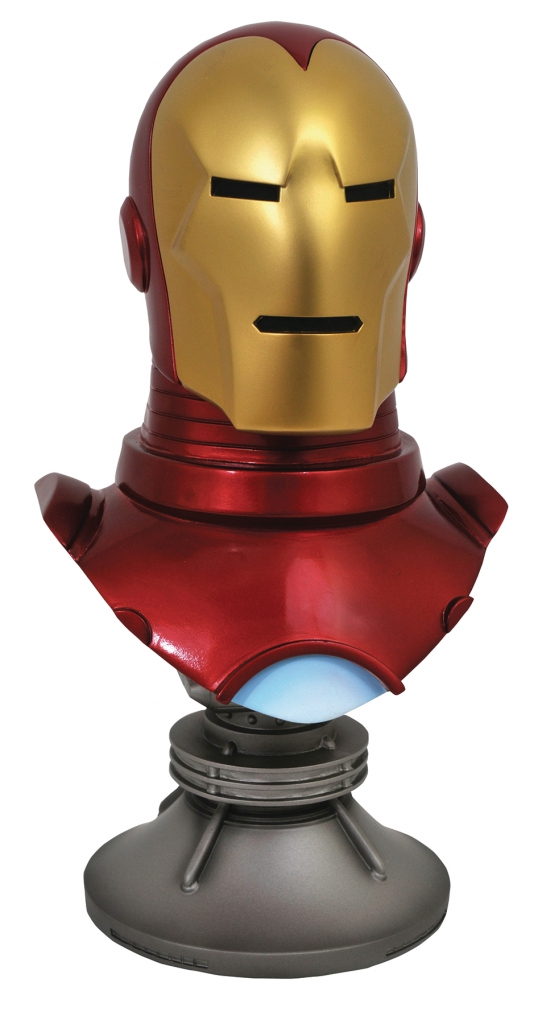 Iron Man 1:2 Scale Resin Bust