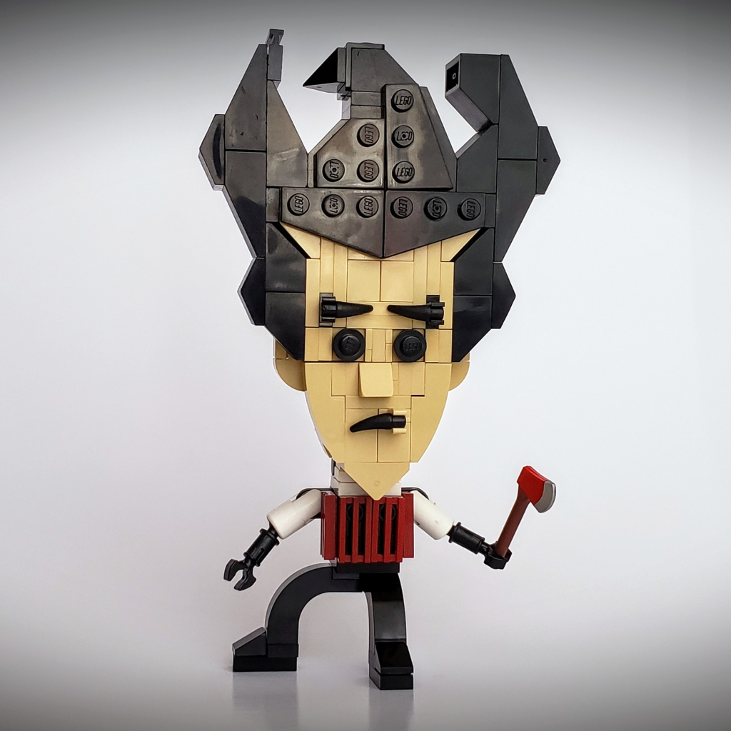 Lego Wilson from Don't Starve