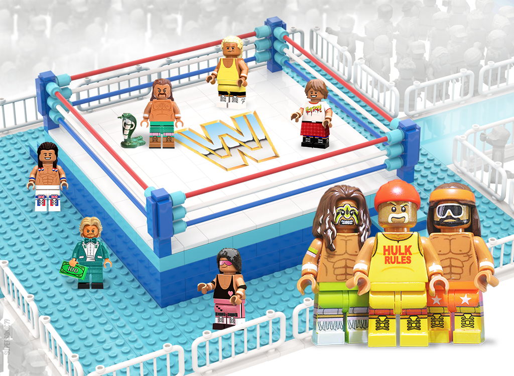 WWE Wrestling: The Golden Era - Lego Ideas