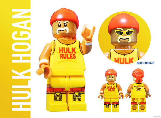 WWE Wrestling: The Golden Era - Lego Ideas - Hulk Hogan