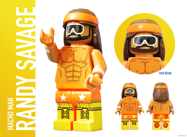 WWE Wrestling: The Golden Era - Lego Ideas - Randy Savage