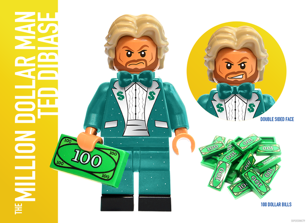 WWE Wrestling: The Golden Era - Lego Ideas - Ted Dibiase