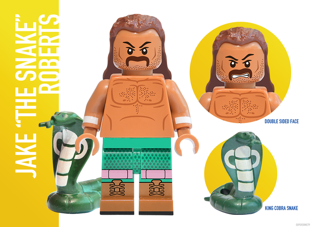 WWE Wrestling: The Golden Era - Lego Ideas - Jake Roberts