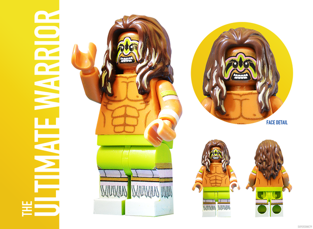WWE Wrestling: The Golden Era - Lego Ideas - Ultimate Warrior