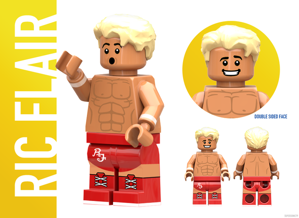 WWE Wrestling: The Golden Era - Lego Ideas - Ric Flair