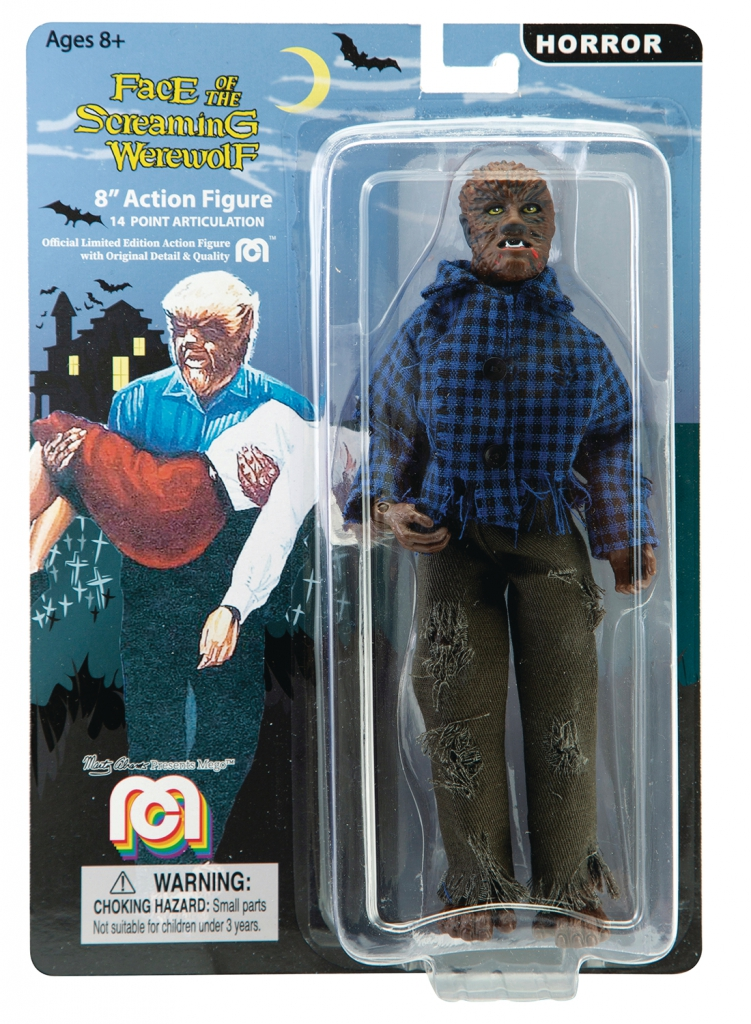 Mego Horror Wave 5 - Face of the Screaming Werewolf