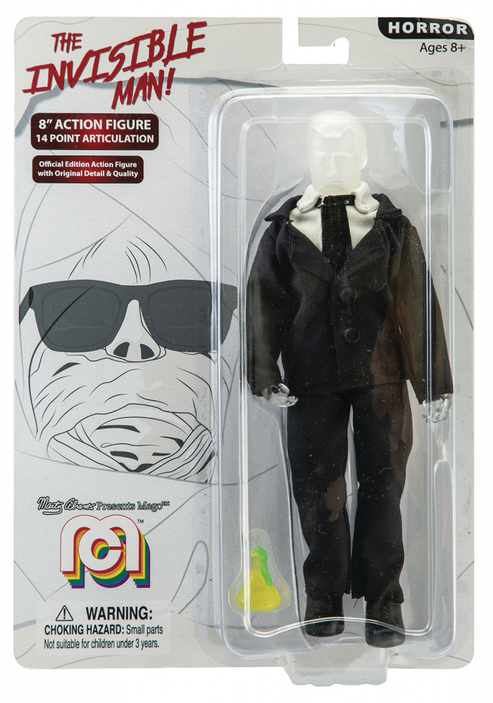 Mego Horror Wave 5 - The Invisible Man