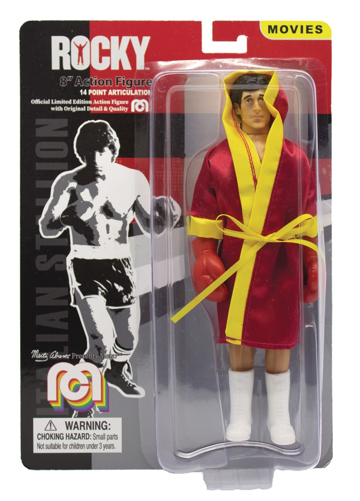 Mego Rocky Balboa 8-inch Retro Action Figure