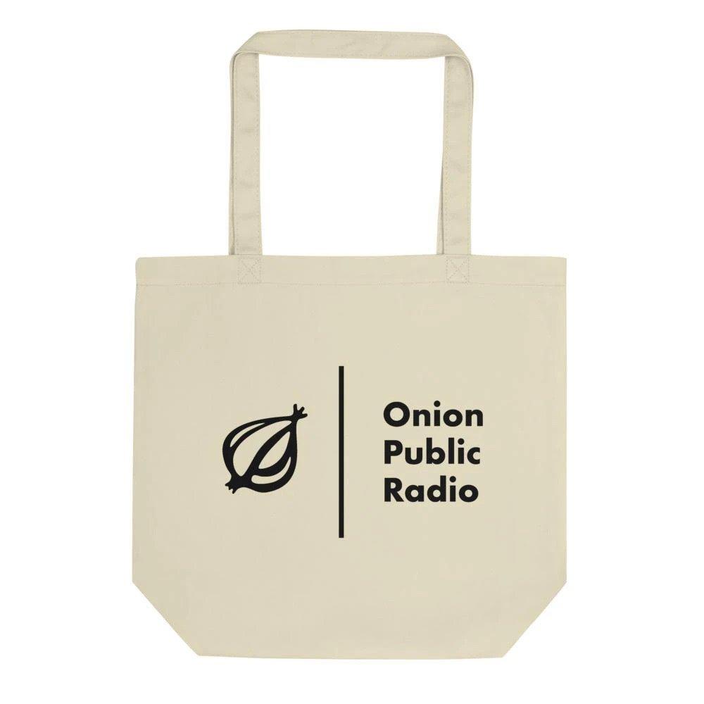 Onion Public Radio Eco Tote Bag